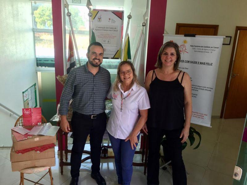 BALMAX apoia Rede Feminina de Combate ao Câncer