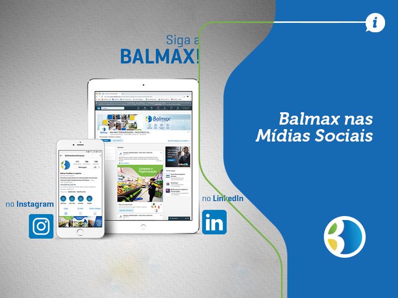 Balmax nas Mídias Sociais