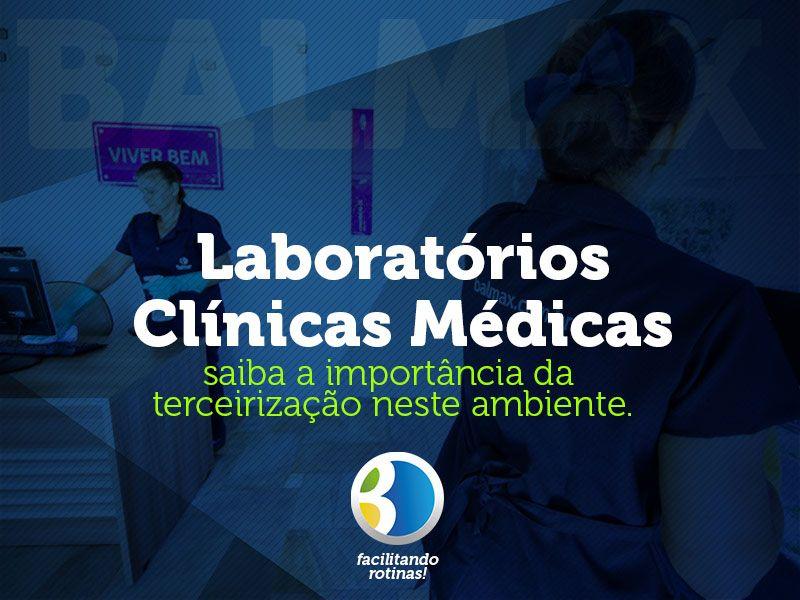 Segmentos: terceirização em laboratórios e clínicas médicas.